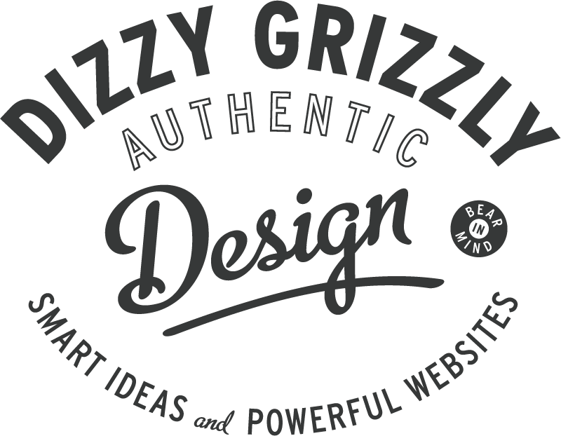 Dizzy Grizzly - Authentic Design - Smart ideas - Powerful Websites